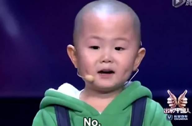 Nastup trogodišnjeg Kineza