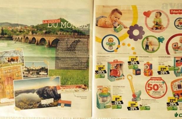 Srbija u Luksemburgu reklamira svoje proizvode