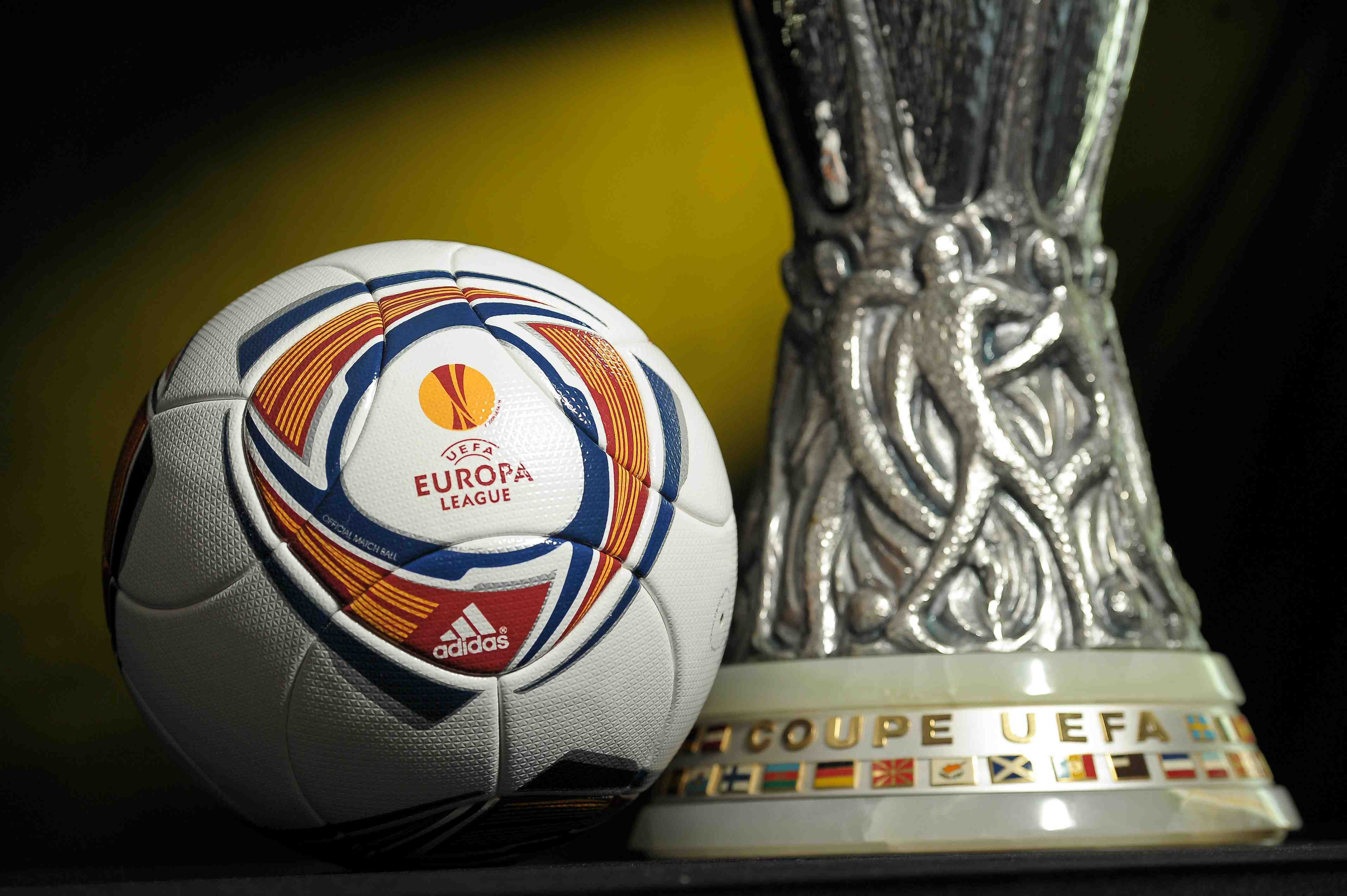 General views of trophies and yearbook - 2011 UEFA Super Cup