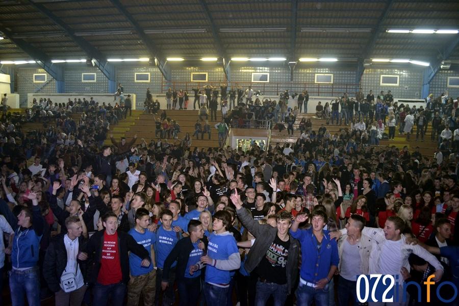 Uprilicena maturalna zabava svih srednjih skola u Zenici