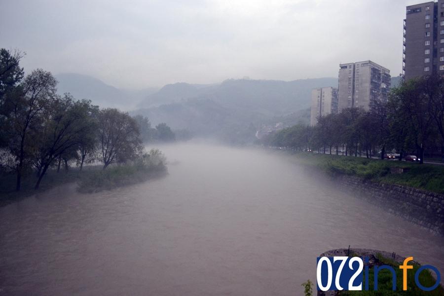 Vodostaj rijeke Bosne ZENICA