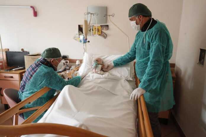 korona covid bolnica pacijent januar2021 epa