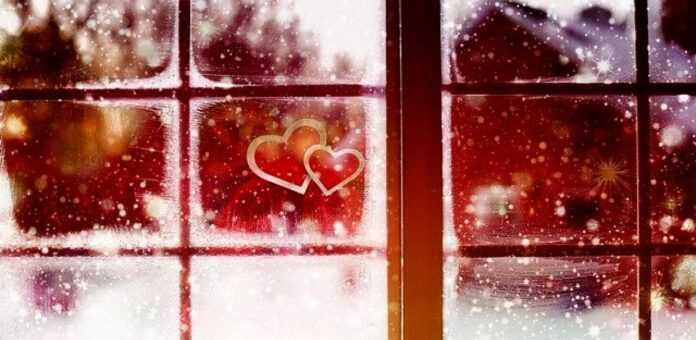 zima ljubav pixabay ilustracija