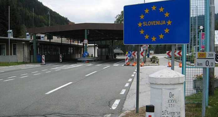 Slovenija granica