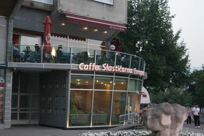 caffe slasticarna evropa zenica