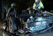 Screenshot 2021 04 21 Tesla na autopilotu zabila se u stablo i izgorjela Umrlo dvoje ljudi nitko nije bio za volanom