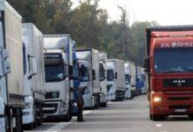 kamioni uvoz izvoz bih ilustracija