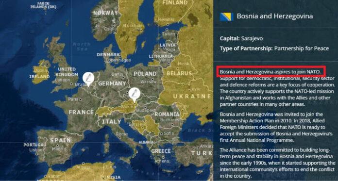 NATO Mapa i BiH 1
