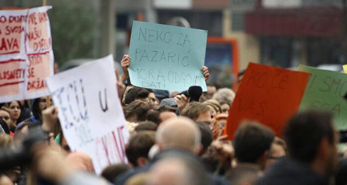 Pazaric protesti