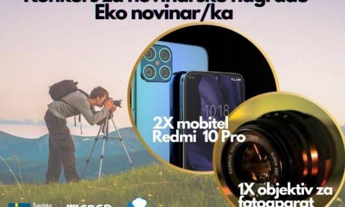 Konkurs za novinarsku nagradu Eko novinarka