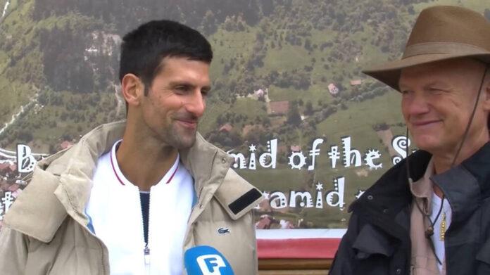 Najbolji teniser svijeta Novak okovic se vratio u Visoko Mi ovdje imamo veliko blago 00 02 35 23 Still001