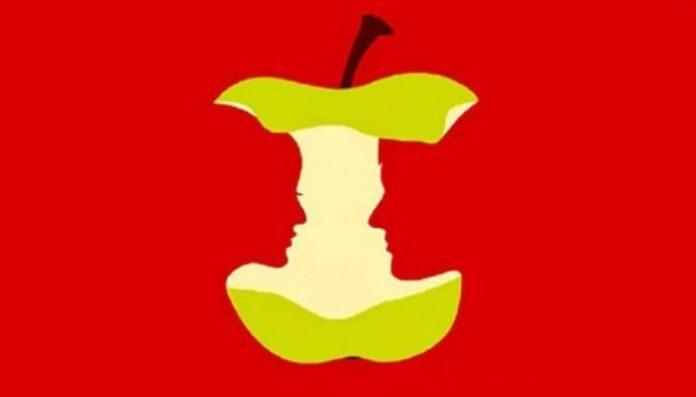 slika jabuka par