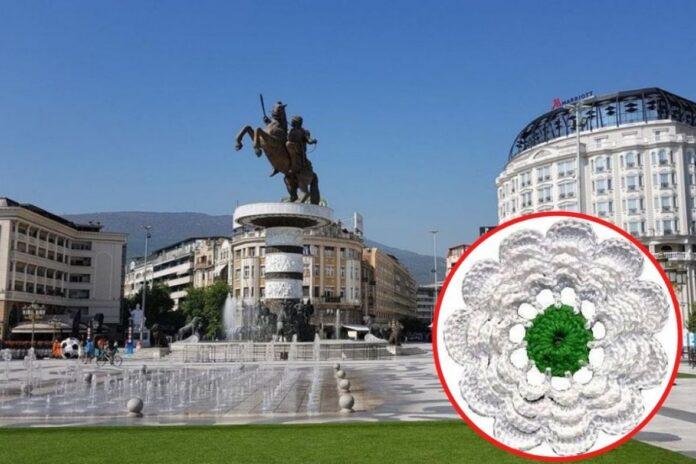 skoplje spomenik srebrenica juli2021