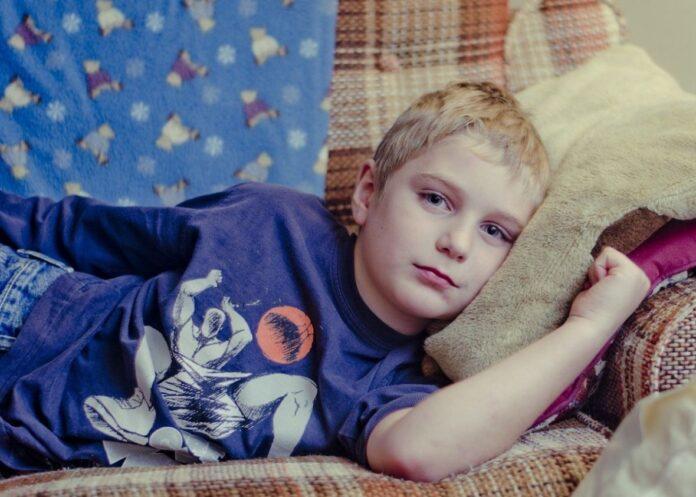 djecak bolest prehlada