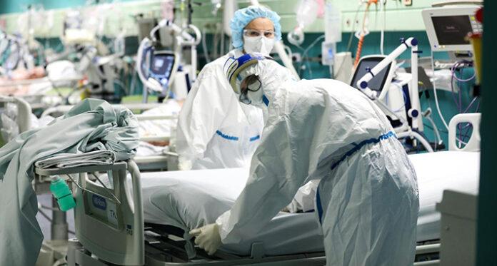 koronavirus pandeija bolnica pixsell