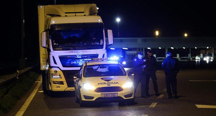 hrvatska policija kamion2 pixsell