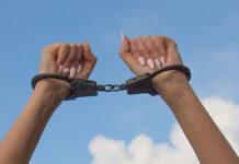 lisice zena hapsenje pxfuel ilustracija
