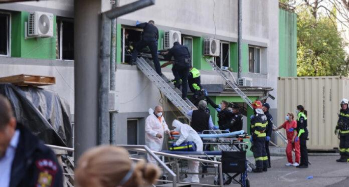 pozar covid bolnica Inquam photos
