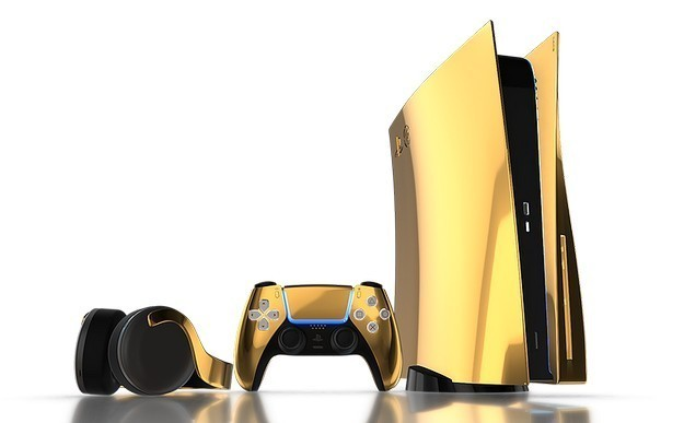 24k gold ps5 3 devices