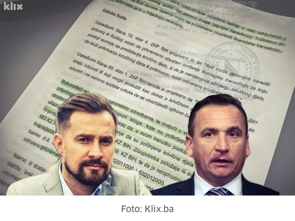 Solak i Hodžić se sumnjiče za pranje novca i brojne zloupotrebe ...