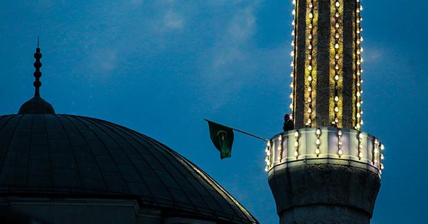 Muslimansko druženje tijekom ramazana