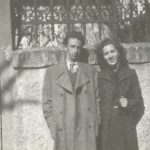 Avdo i Olga u Mostaru u mladim danima 1