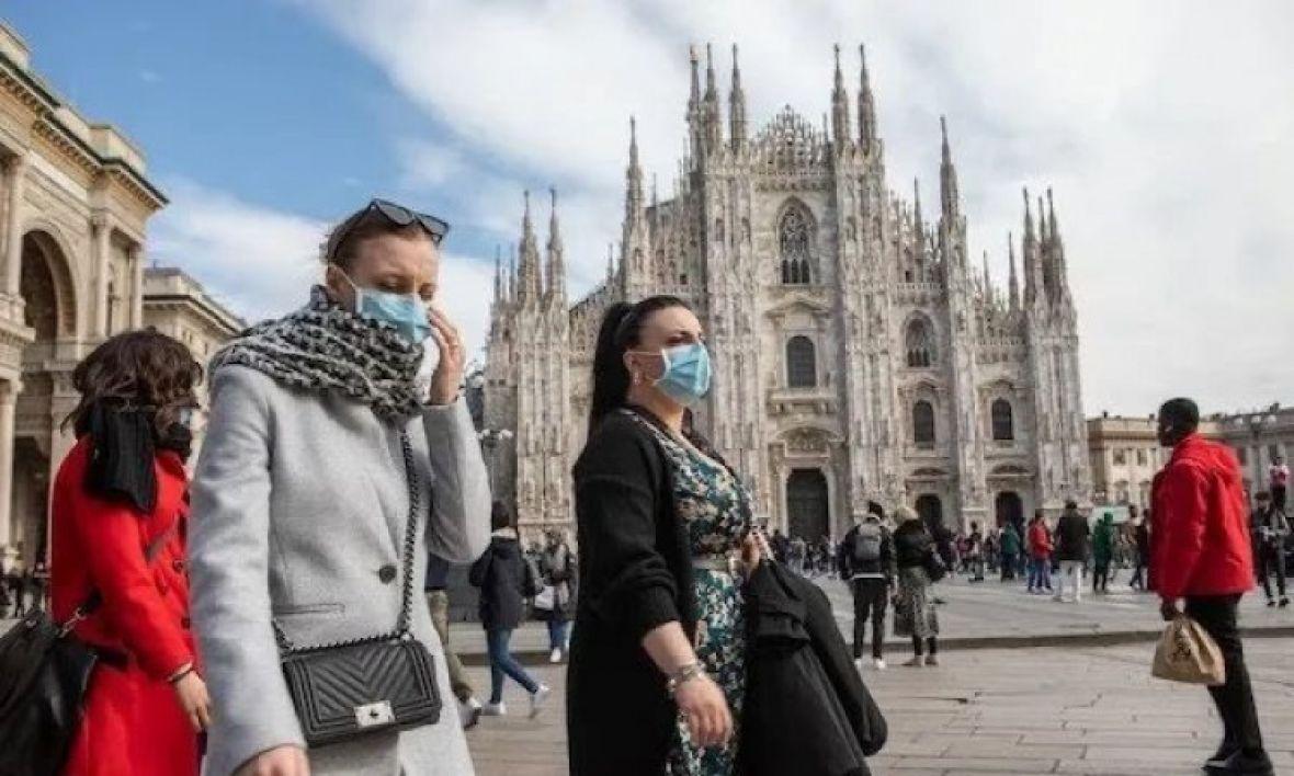 Italija koronavirus Twitter