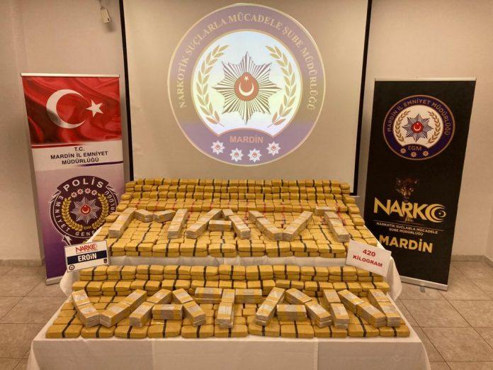 POLICIJA PRETRESOM VOZILA ZAPLIJENILA 420 KILOGRAMA HEROINA aa 1 696x522 1