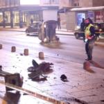 Screenshot 2020 11 02 Prevrnuo se automobil u Titovoj ulici u Sarajevu jednu osobu odvezla hitna pomoc1 696x464 1