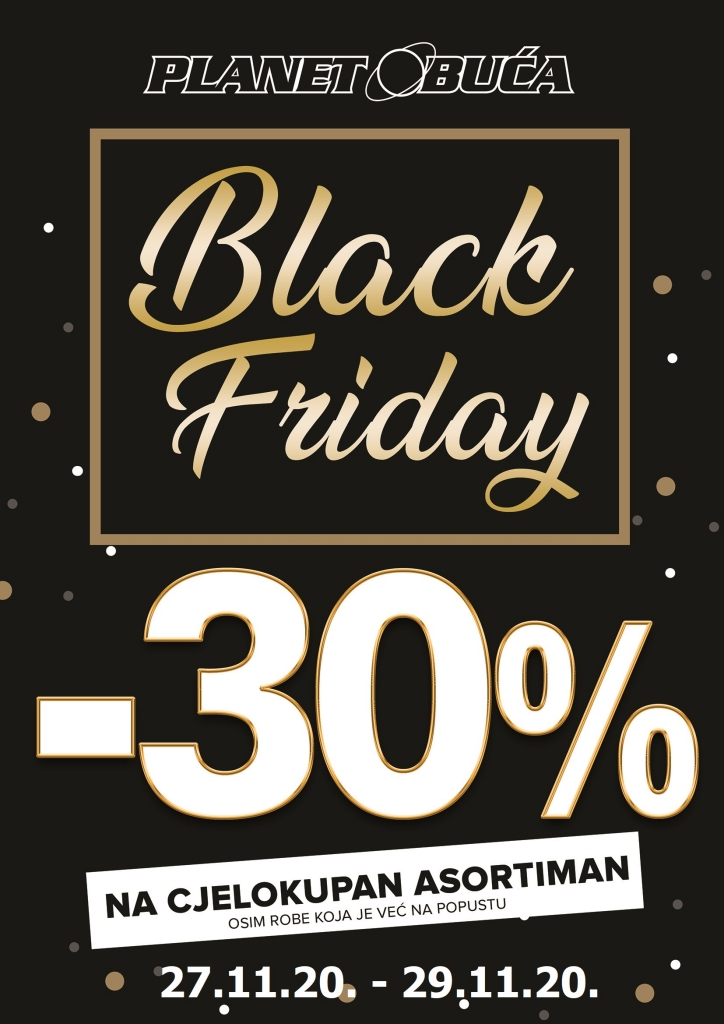 a4 black friday 30 posto