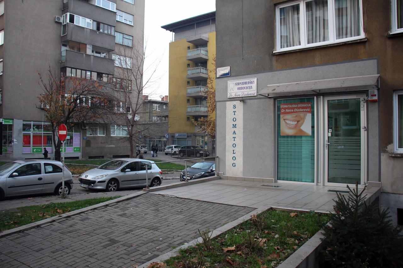 Ordinacija u ulici Vojvodića put 2, Londža