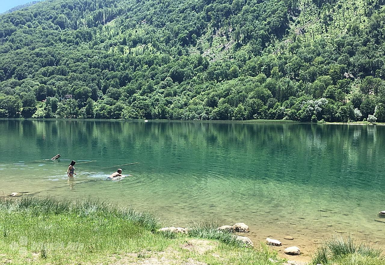 boracko jezero kupaci