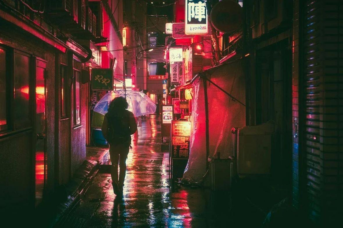 japan osaka ulica pixabay