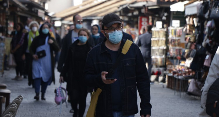 koronavirus maske jesen