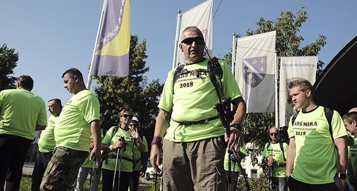 krenuo Marš mira Sarajevo Nezuk Potočari 4