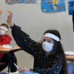 maska djeca skola