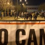 migranti protest