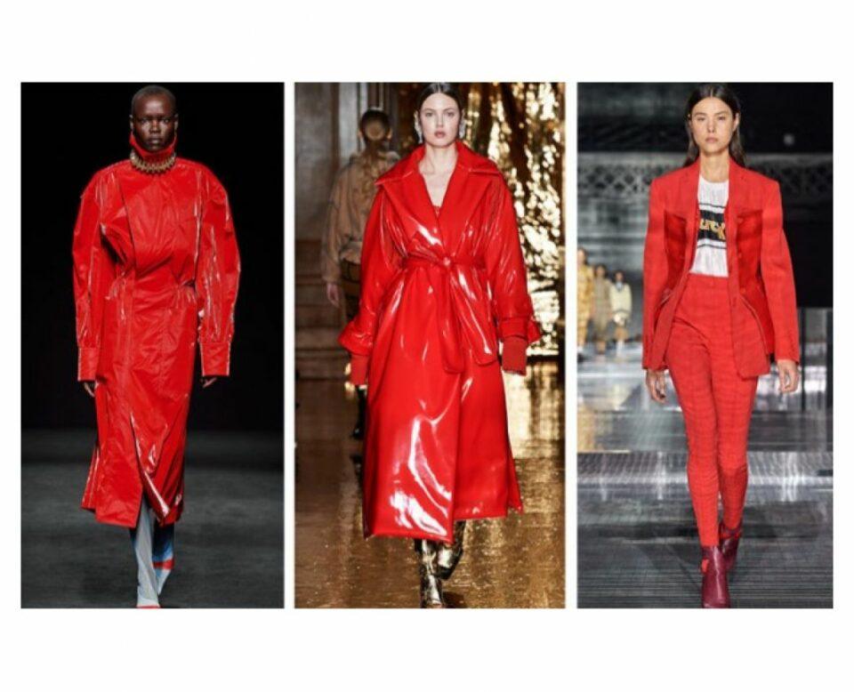 moda boja crvena jesen