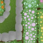 mozgalica lopatica vrt ilustracija fb