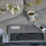 rad od kuce laptop kauc dom ilustracija pixabay