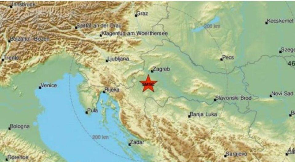 sisak zemljotres