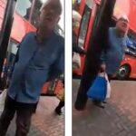 snimak london islamofobija autobuskastanica mrznja sep20 prtscr