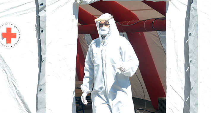 ukc tuzla pandemija koronavirus trijaza