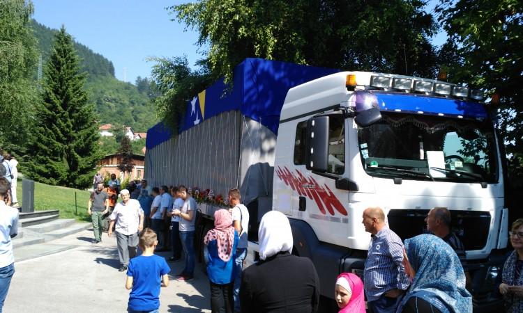 Rezultat slika za Visoko ispraća žrtve genocida u Srebrenici