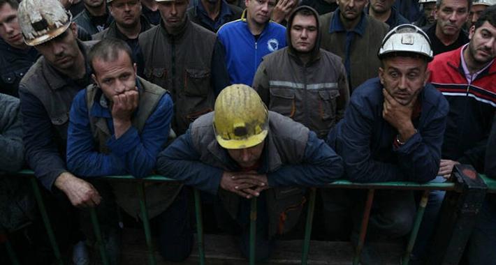 zenica rudari strajk aa main